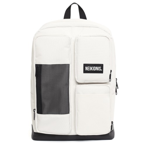 MESH SQUARE BACKPACK / IVORY